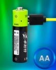 Аккумуляторная батарея (Тип AA) с функцией зарядки через USB ТМ ZNTER
